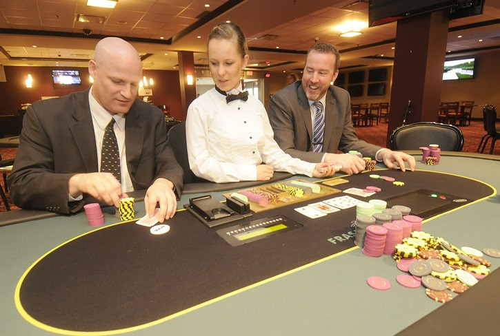 Fraser Downs Poker
